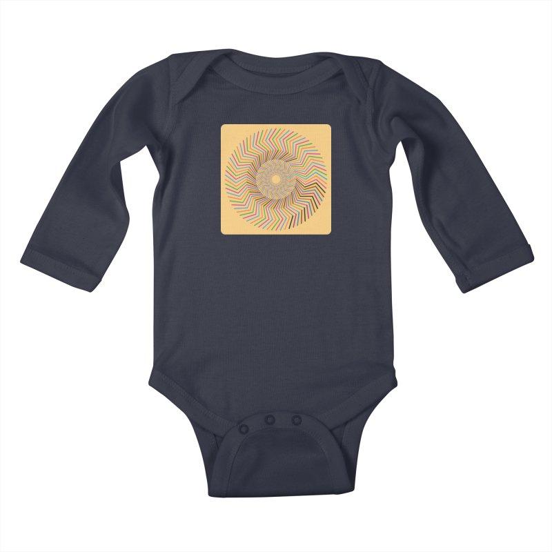 A-Z OF ANTIDEPRESSANTS: GABAPENTIN Kids Baby Longsleeve Bodysuit by Shop | Devang Thakkar