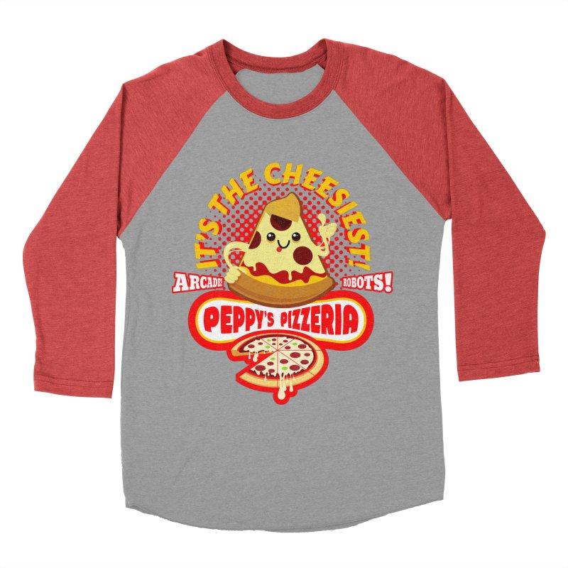 Peppy's Pizzeria Women's Longsleeve T-Shirt by devildino's Artist Shop