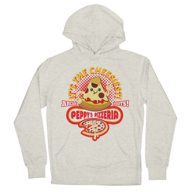 Peppy's Pizzeria Women's Pullover Hoody by devildino's Artist Shop