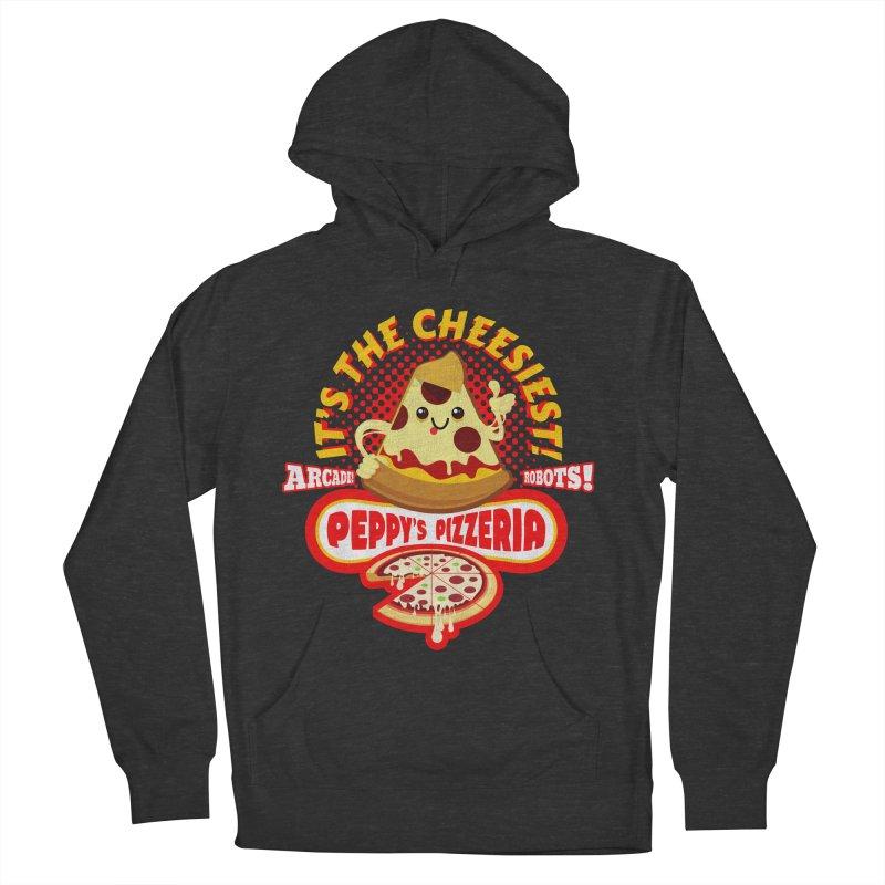 Peppy's Pizzeria Men's Pullover Hoody by devildino's Artist Shop