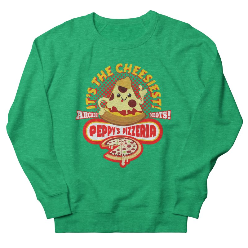 Peppy's Pizzeria Women's Sweatshirt by devildino's Artist Shop
