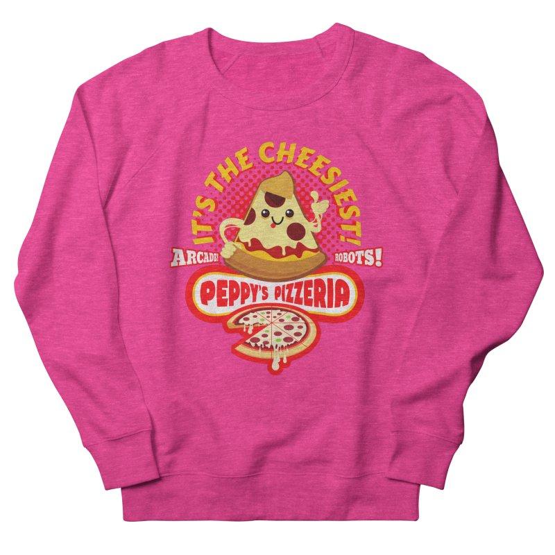 Peppy's Pizzeria Women's Sweatshirt by devildino's Artist Shop