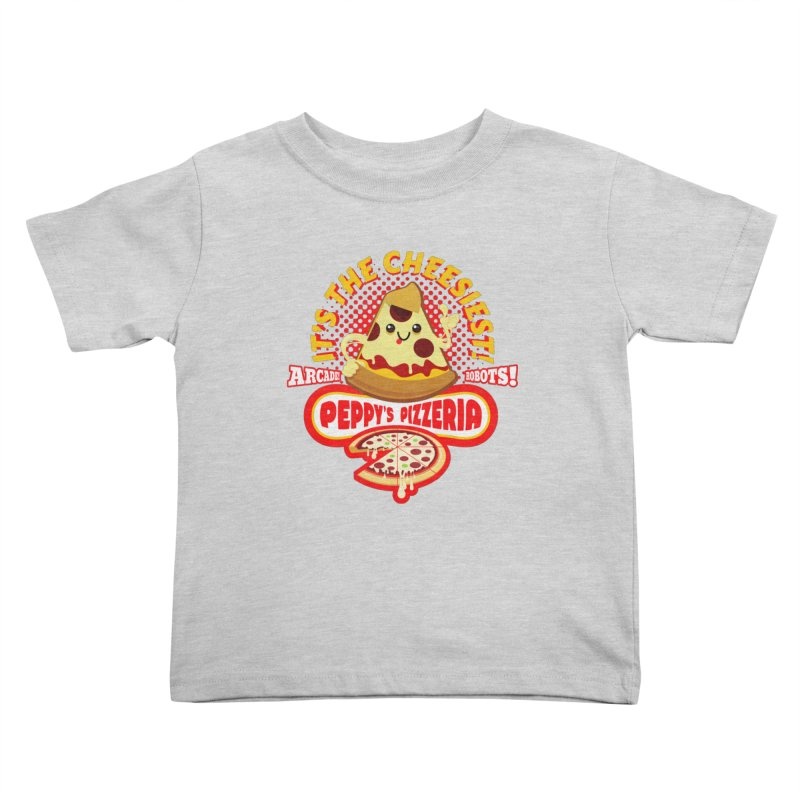 Peppy's Pizzeria Kids Toddler T-Shirt by devildino's Artist Shop