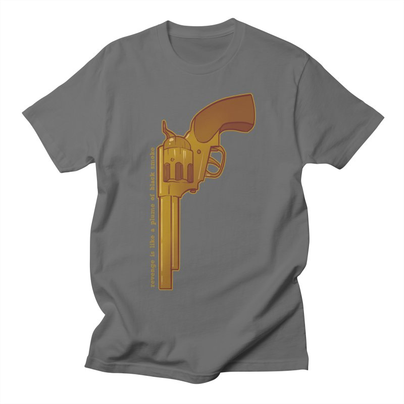 Plume: Golden Gun Men's T-Shirt by Devil's Due Comics