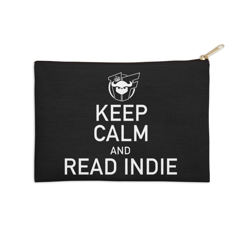 Stay Calm and Read Indie Accessories Zip Pouch by Devil's Due Entertainment Depot