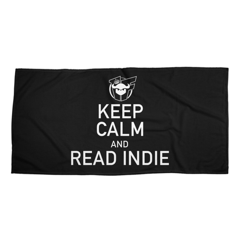 Stay Calm and Read Indie Accessories Beach Towel by Devil's Due Entertainment Depot