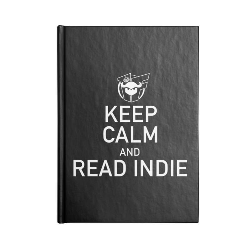 Stay Calm and Read Indie Accessories Notebook by Devil's Due Entertainment Depot