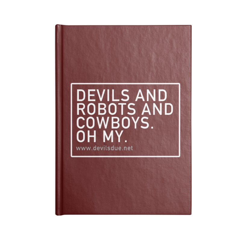 Oh My. Accessories Notebook by Devil's Due Entertainment Depot