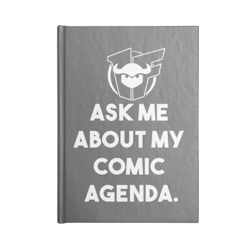 Ask Me About it Accessories Notebook by Devil's Due Entertainment Depot