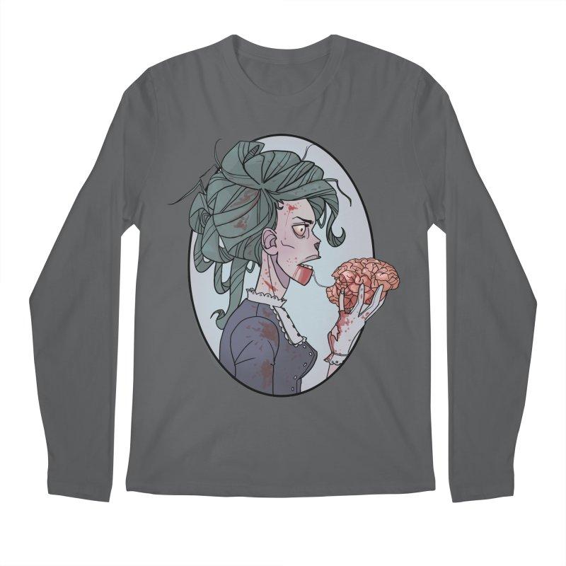 Victorian Zombie by K Lynn Smith Men's Longsleeve T-Shirt by Devil's Due Comics