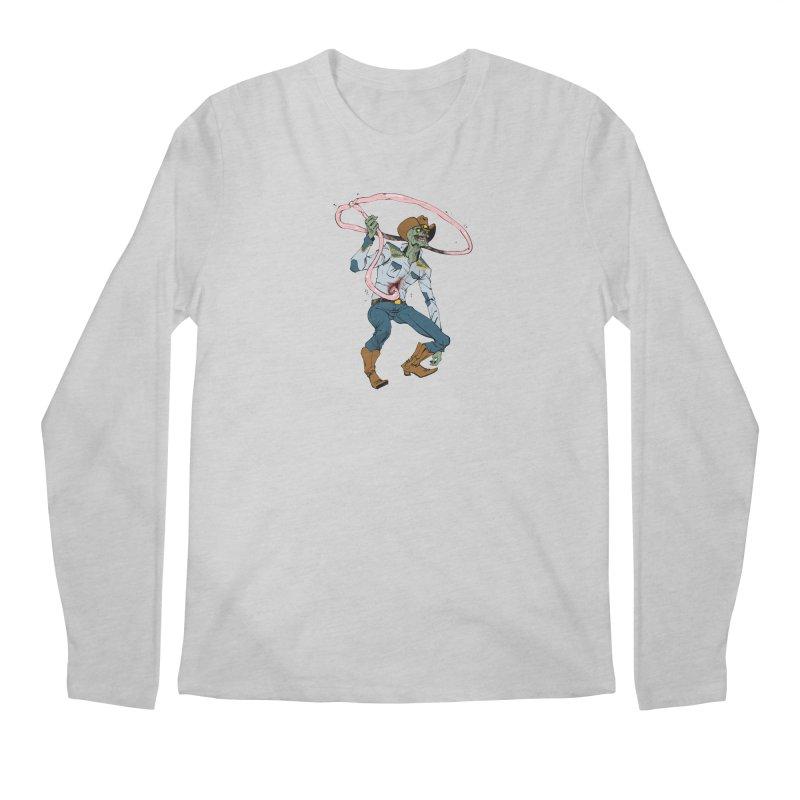 Zombie Cowboy by Tim Seeley Men's Longsleeve T-Shirt by Devil's Due Comics