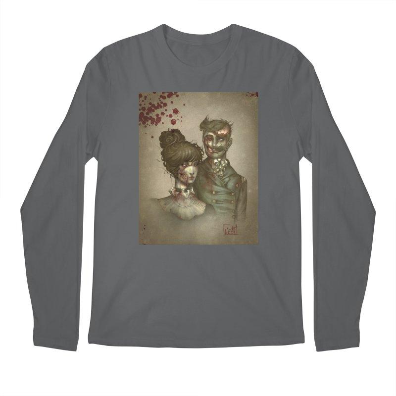 Zombie Portraits by Nei Ruffino Men's Longsleeve T-Shirt by Devil's Due Comics