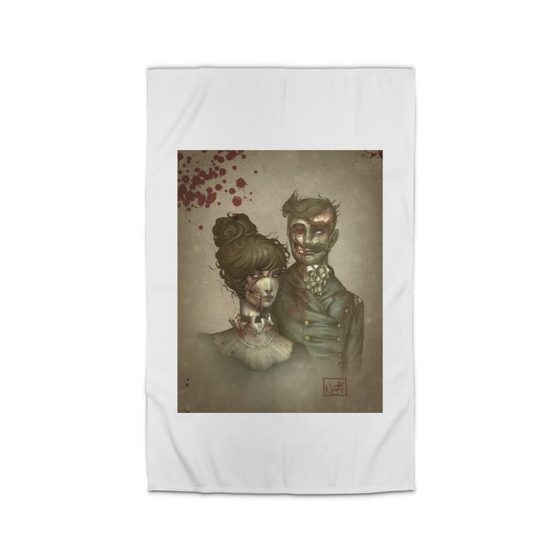 Zombie Portraits by Nei Ruffino Home Rug by Devil's Due Entertainment Depot
