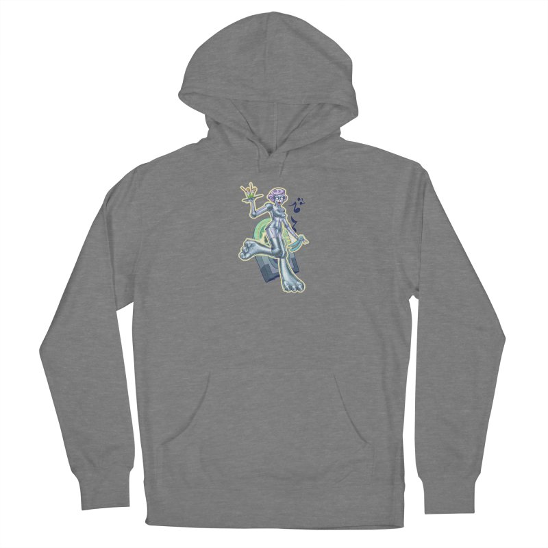 Robot Girlie by Nei Ruffino Women's Pullover Hoody by Devil's Due Comics