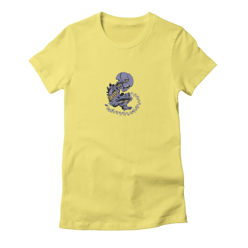 Robot Babe by Phil Hester Women's T-Shirt by Devil's Due Comics