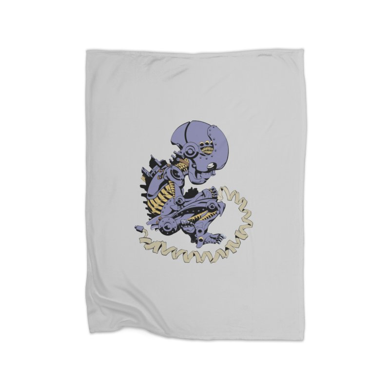 Robot Babe by Phil Hester Home Blanket by Devil's Due Entertainment Depot