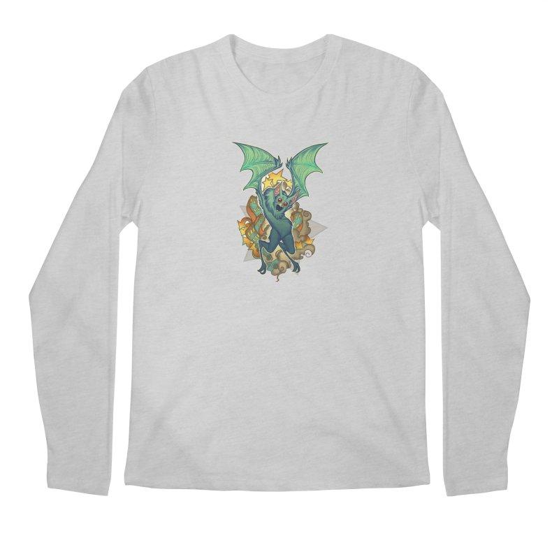 The Bat Man by Nei Ruffino Men's Longsleeve T-Shirt by Devil's Due Comics