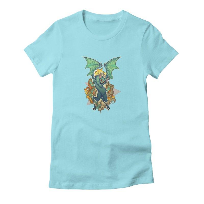 The Bat Man by Nei Ruffino Women's T-Shirt by Devil's Due Comics