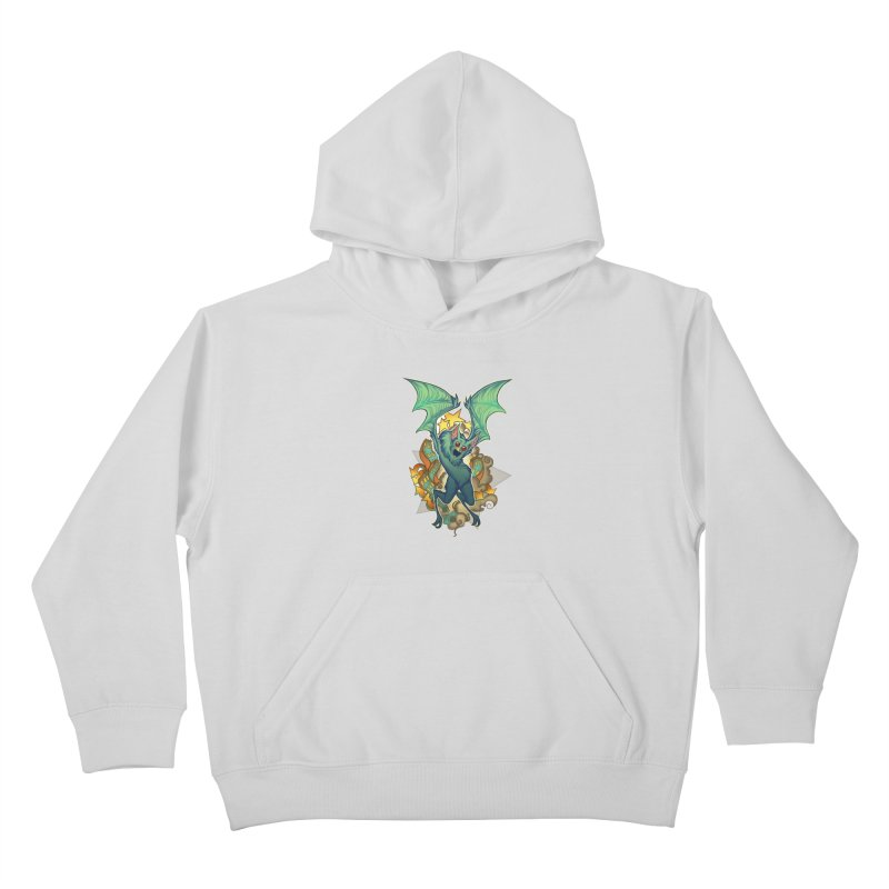 The Bat Man by Nei Ruffino Kids Pullover Hoody by Devil's Due Entertainment Depot