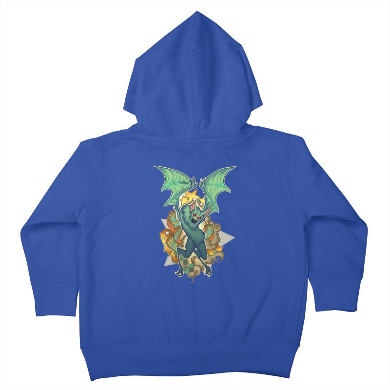 The Bat Man by Nei Ruffino Kids Toddler Zip-Up Hoody by Devil's Due Entertainment Depot