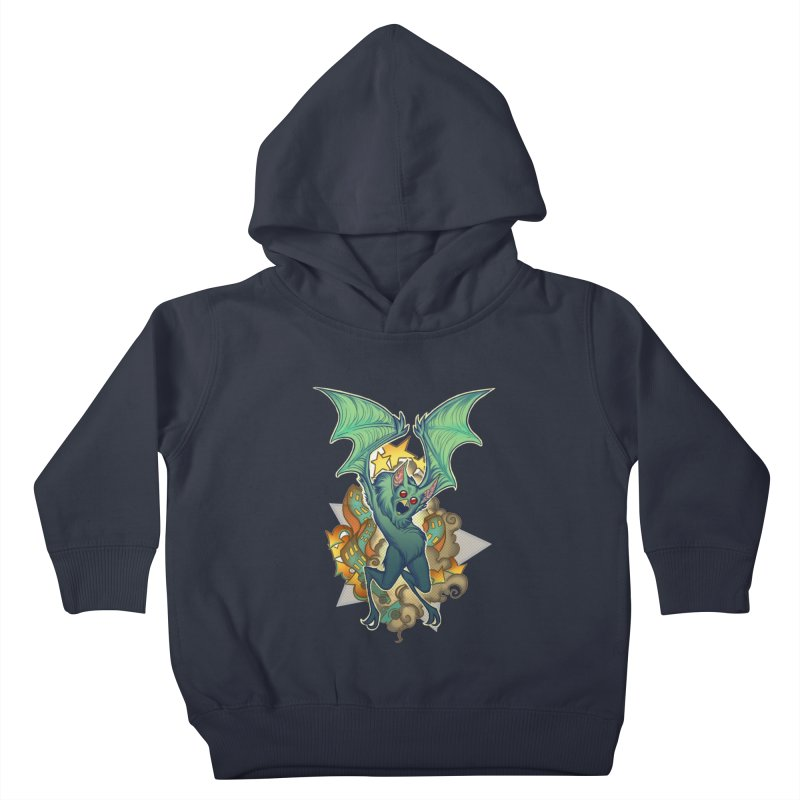 The Bat Man by Nei Ruffino Kids Toddler Pullover Hoody by Devil's Due Entertainment Depot