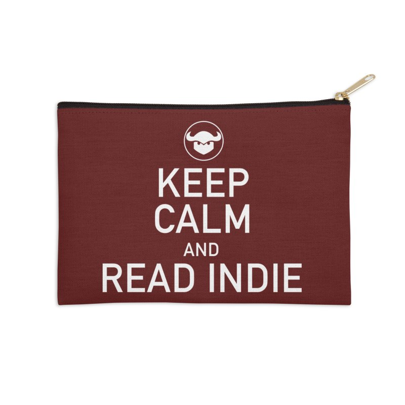 Stay Calm and Read Comics Accessories Zip Pouch by Devil's Due Entertainment Depot