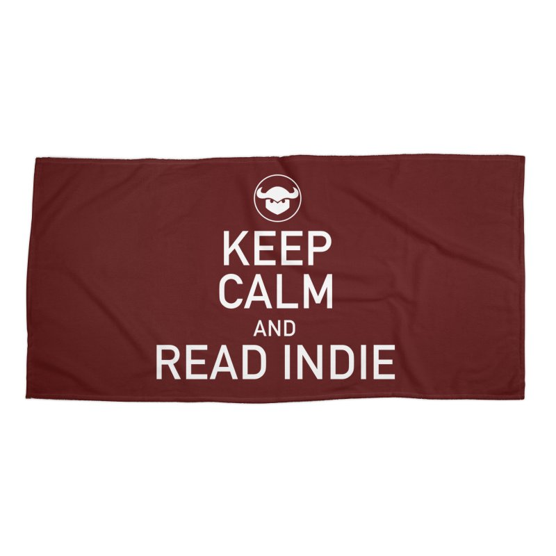 Stay Calm and Read Comics Accessories Beach Towel by Devil's Due Entertainment Depot