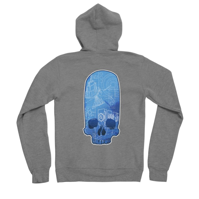 Archeopunk - Paracus Skulls Men's Zip-Up Hoody by Devil's Due Comics