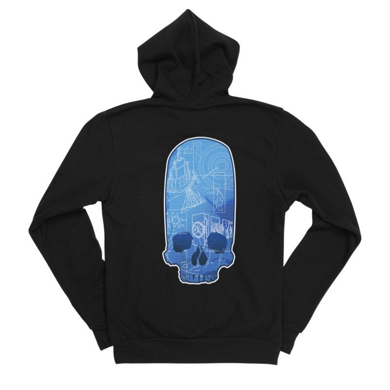 Archeopunk - Paracus Skulls Men's Zip-Up Hoody by Devil's Due Comics