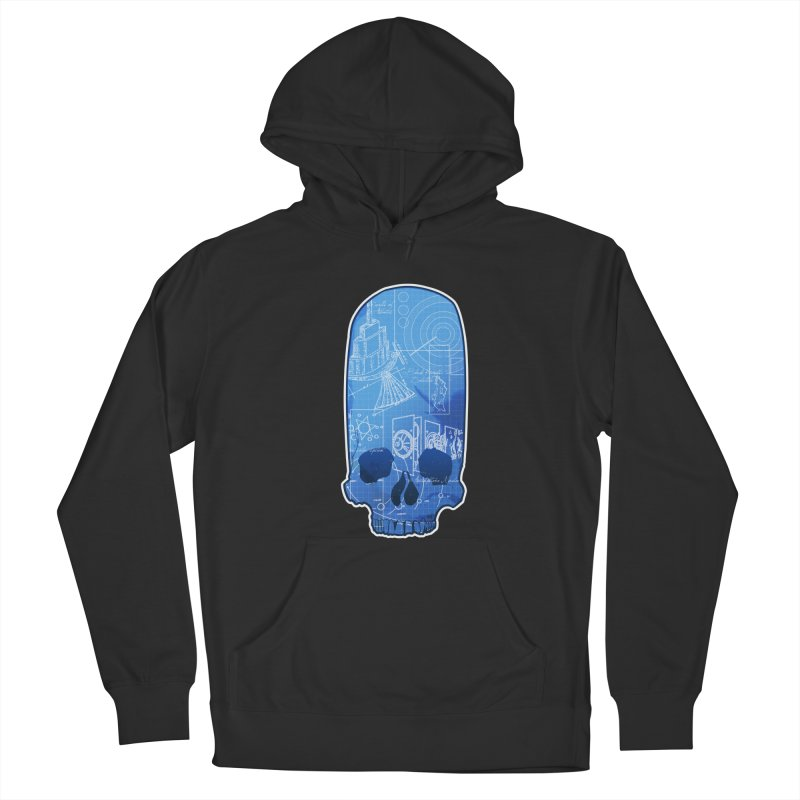 Archeopunk - Paracus Skulls Men's French Terry Pullover Hoody by Devil's Due Comics