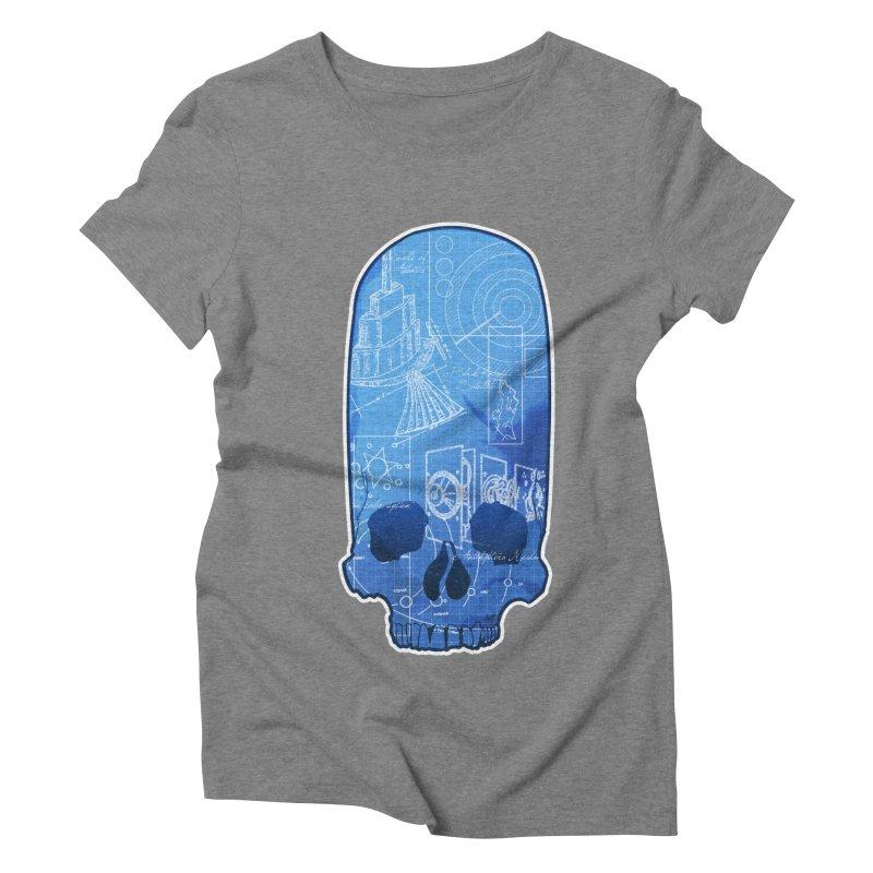 Archeopunk - Paracus Skulls Women's Triblend T-Shirt by Devil's Due Comics