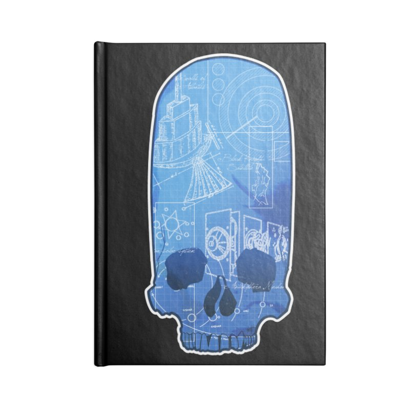 Archeopunk - Paracus Skulls Accessories Blank Journal Notebook by Devil's Due Comics