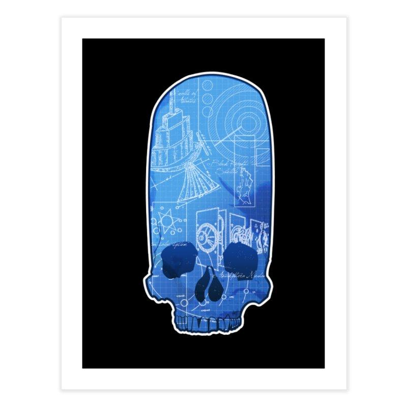 Archeopunk - Paracus Skulls Home Fine Art Print by Devil's Due Comics