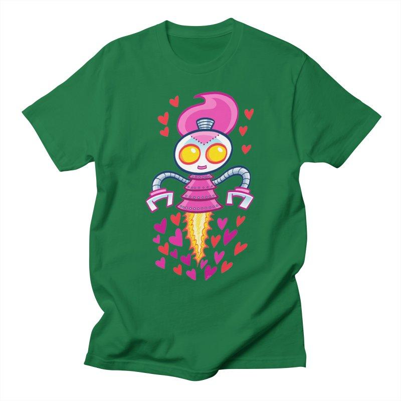 Robot Girlie by Art Baltazar Men's T-Shirt by Devil's Due Comics