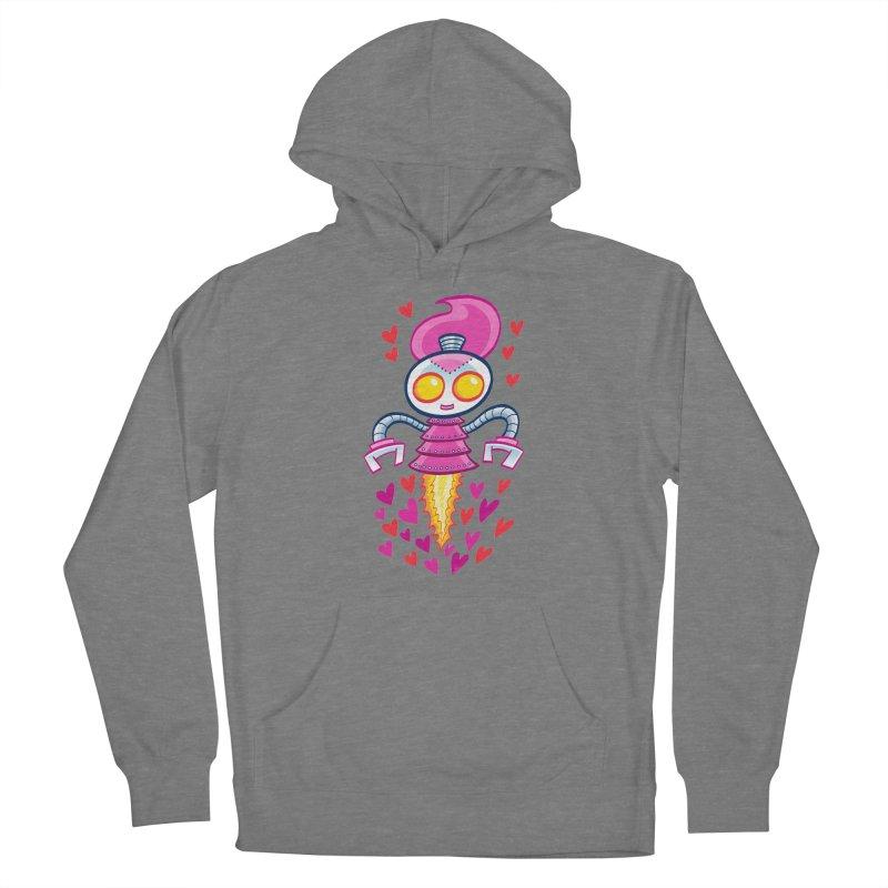 Robot Girlie by Art Baltazar Women's Pullover Hoody by Devil's Due Comics