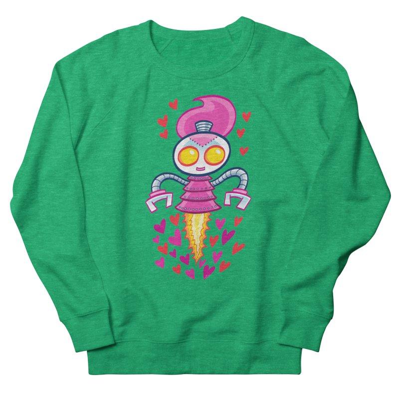Robot Girlie by Art Baltazar Men's Sweatshirt by Devil's Due Comics