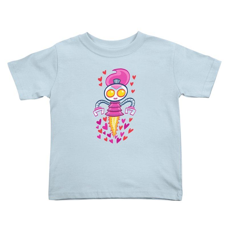 Robot Girlie by Art Baltazar Kids Toddler T-Shirt by Devil's Due Entertainment Depot