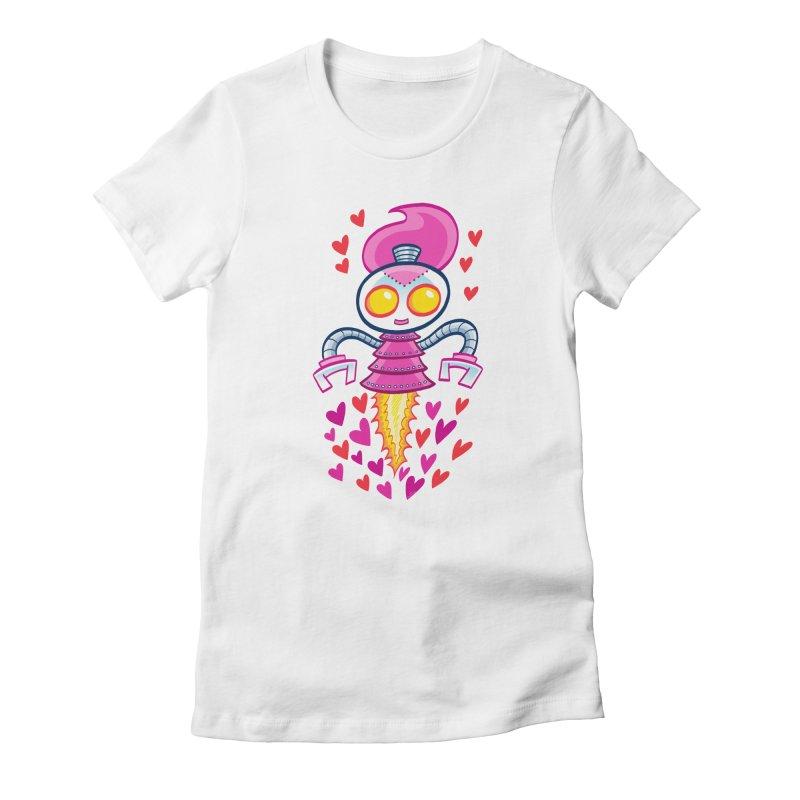 Robot Girlie by Art Baltazar Women's T-Shirt by Devil's Due Comics