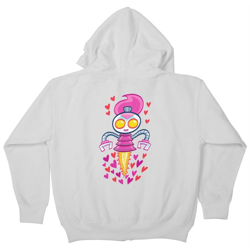 Robot Girlie by Art Baltazar Kids Zip-Up Hoody by Devil's Due Entertainment Depot