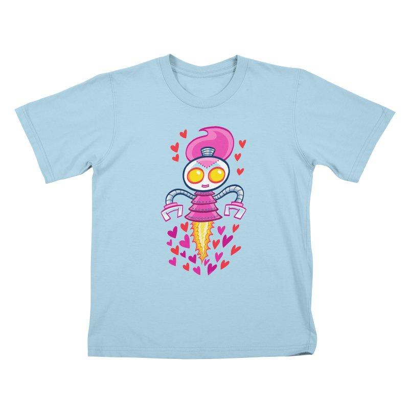 Robot Girlie by Art Baltazar Kids T-Shirt by Devil's Due Comics