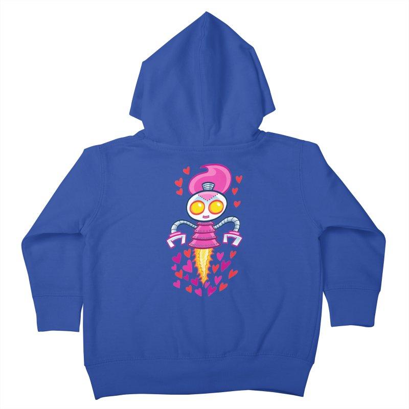 Robot Girlie by Art Baltazar Kids Toddler Zip-Up Hoody by Devil's Due Entertainment Depot