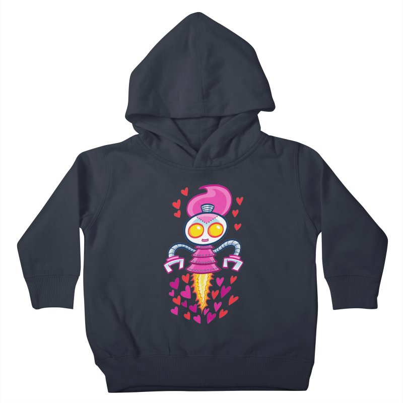 Robot Girlie by Art Baltazar Kids Toddler Pullover Hoody by Devil's Due Entertainment Depot