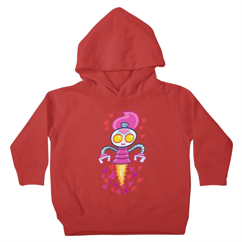 Robot Girlie by Art Baltazar Kids Toddler Pullover Hoody by Devil's Due Entertainment Depot