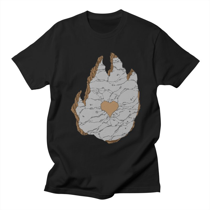 Footprint Heart by Phil Hester Men's T-Shirt by Devil's Due Comics