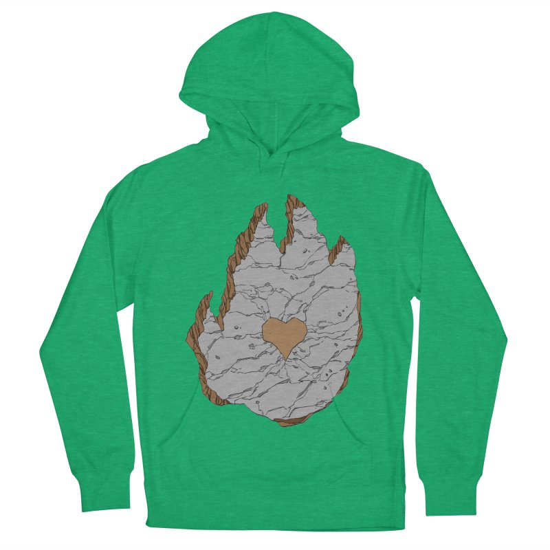 Footprint Heart by Phil Hester Men's Pullover Hoody by Devil's Due Entertainment Depot