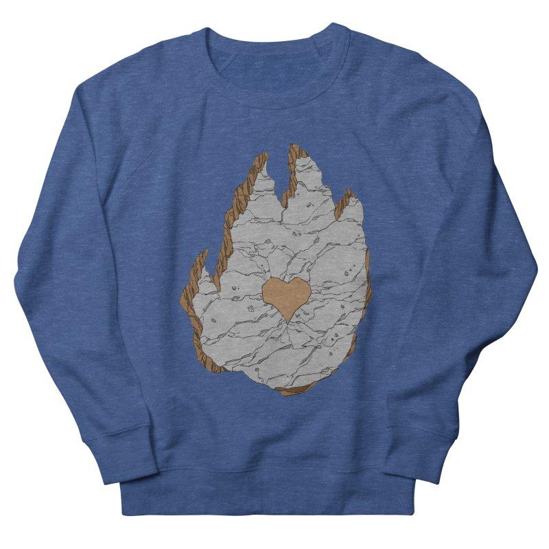 Footprint Heart by Phil Hester Men's Sweatshirt by Devil's Due Comics