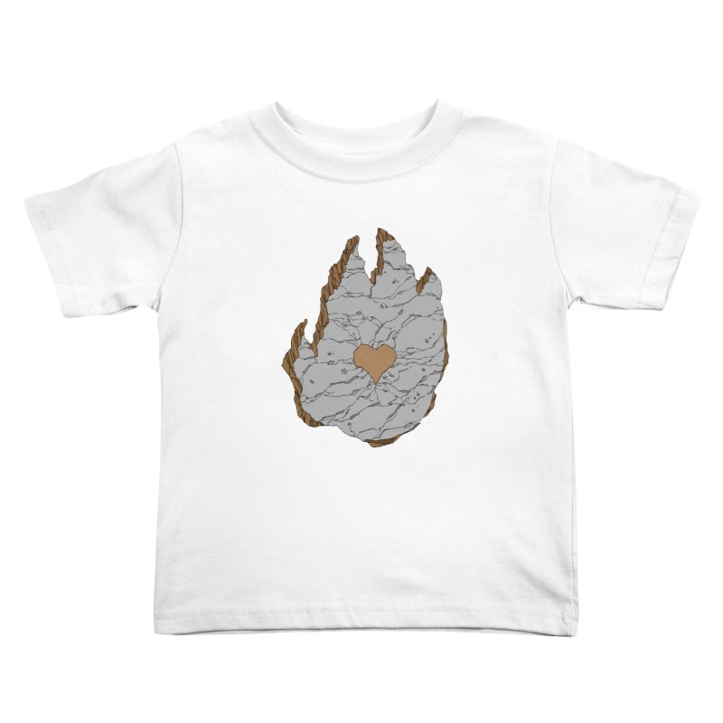 Footprint Heart by Phil Hester Kids Toddler T-Shirt by Devil's Due Entertainment Depot