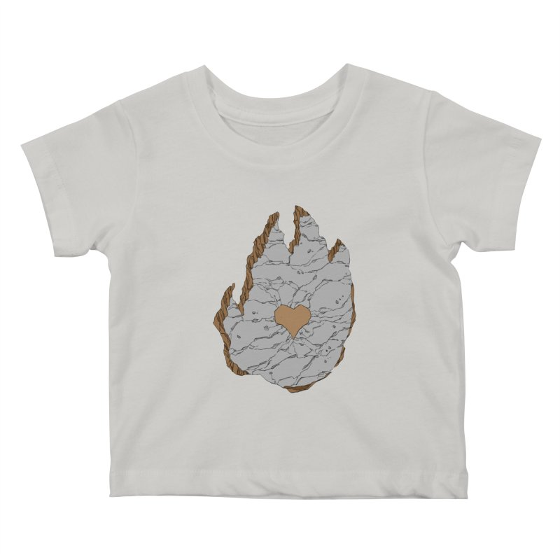 Footprint Heart by Phil Hester Kids Baby T-Shirt by Devil's Due Entertainment Depot