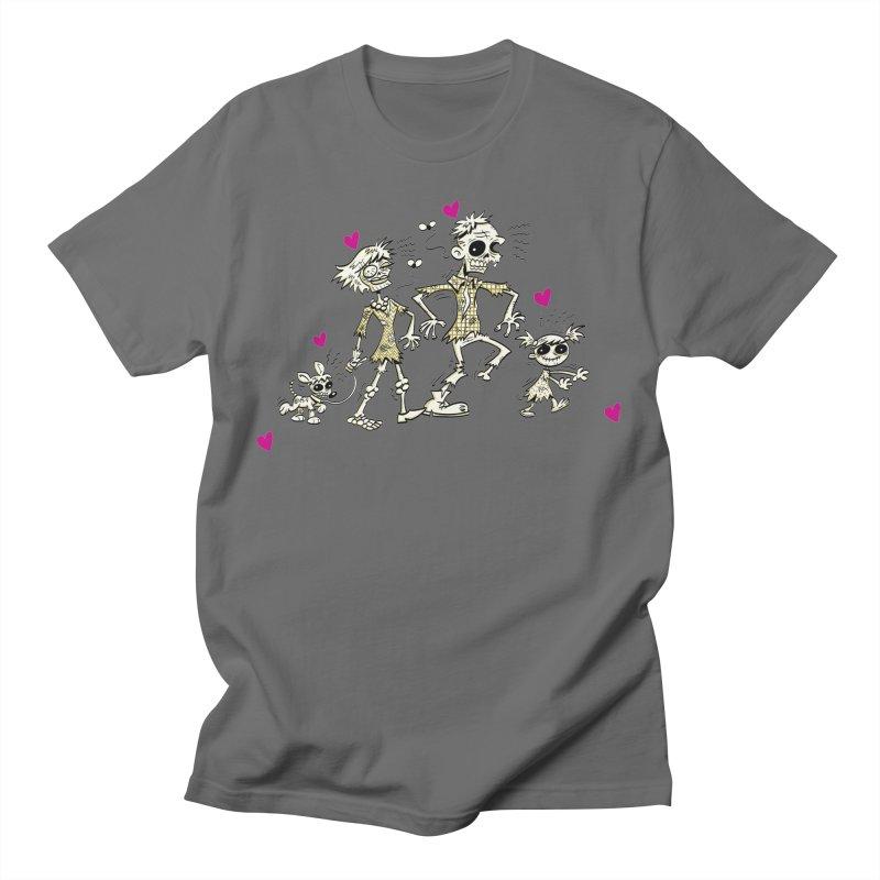 Zombie Family by Art Baltazar Men's T-Shirt by Devil's Due Comics