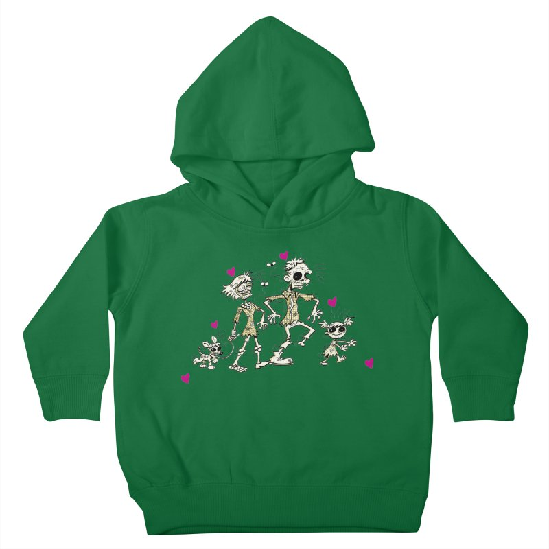 Zombie Family by Art Baltazar Kids Toddler Pullover Hoody by Devil's Due Comics